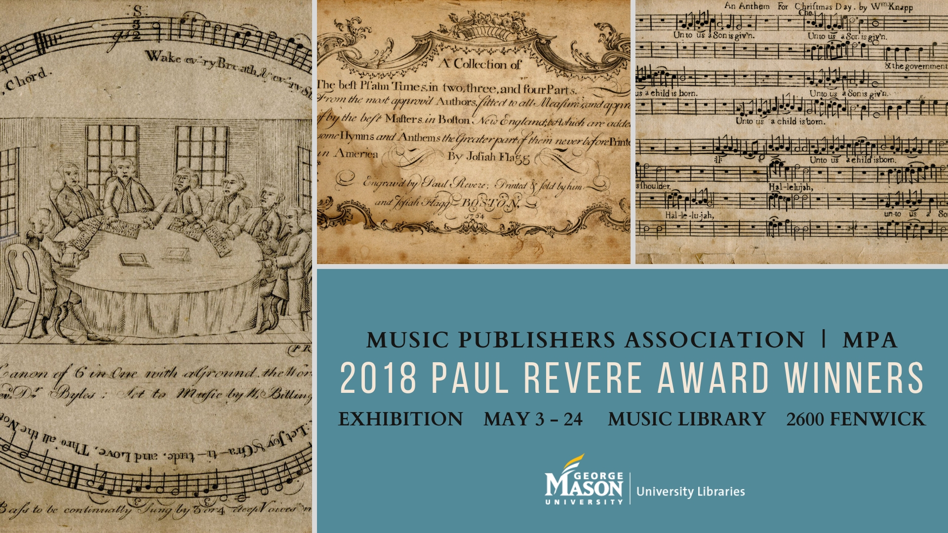 MPA award exhibit in the Music Library | News